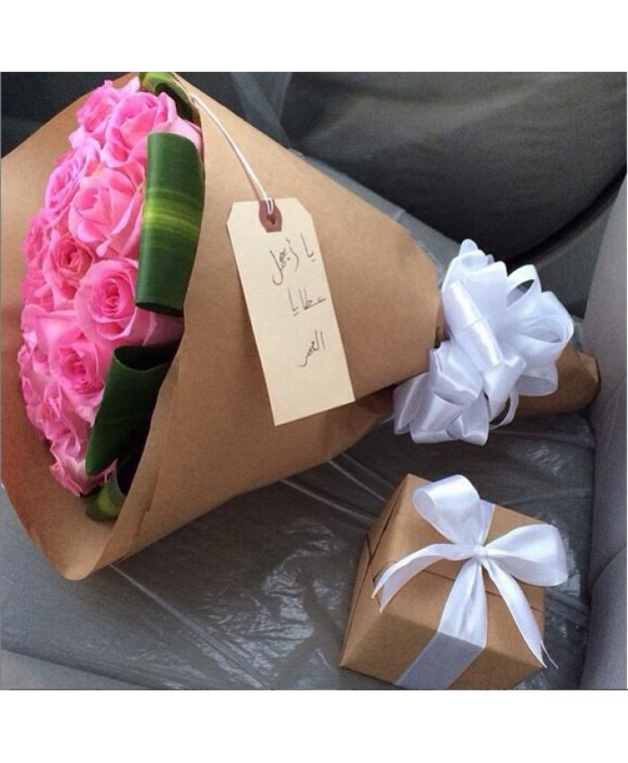 نتيجة بحث الصور عن تغليف هدايا بالورد Gift Wrapping Gifts Mimi