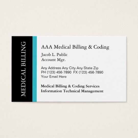Medical billing coding business cards business cards medical medical billing coding business cards colourmoves