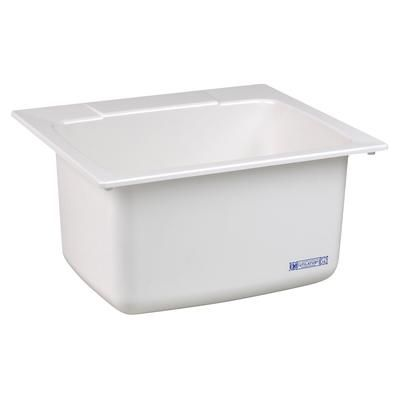 Mustee Utility Sink 22 In X 25 In White 10 Home Depot