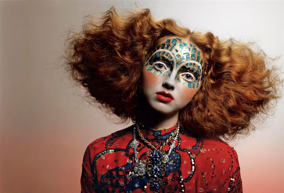 Magazine: Vogue Italia September 2005 Model: Lily Cole Photographer: Richard Burbridge