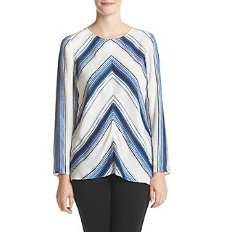 Ruff Hewn GREY Multi Stripe Tunic