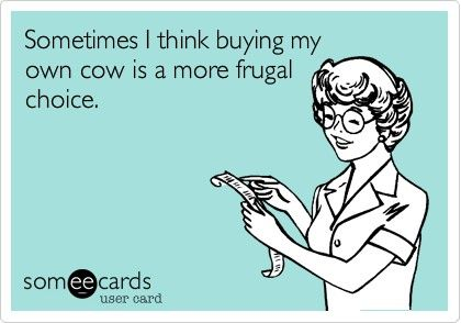 """Are you """"the frugal"""" one in your group? Here are 11 signs you might be """"the frugal"""" one."""