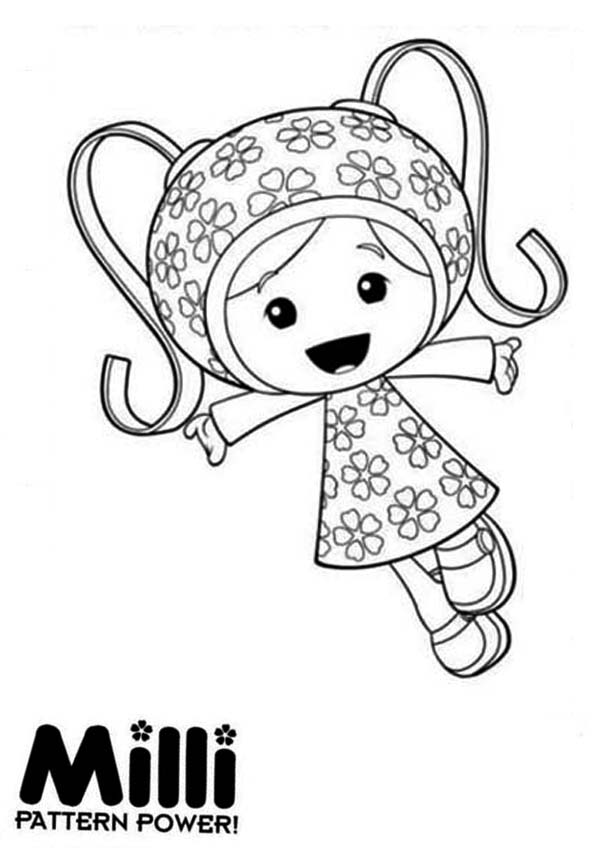 Milli And Her Pattern Power In Team Umizoomi Coloring Page Color Luna In 2020 Team Umizoomi Coloring Pages Coloring Pages To Print