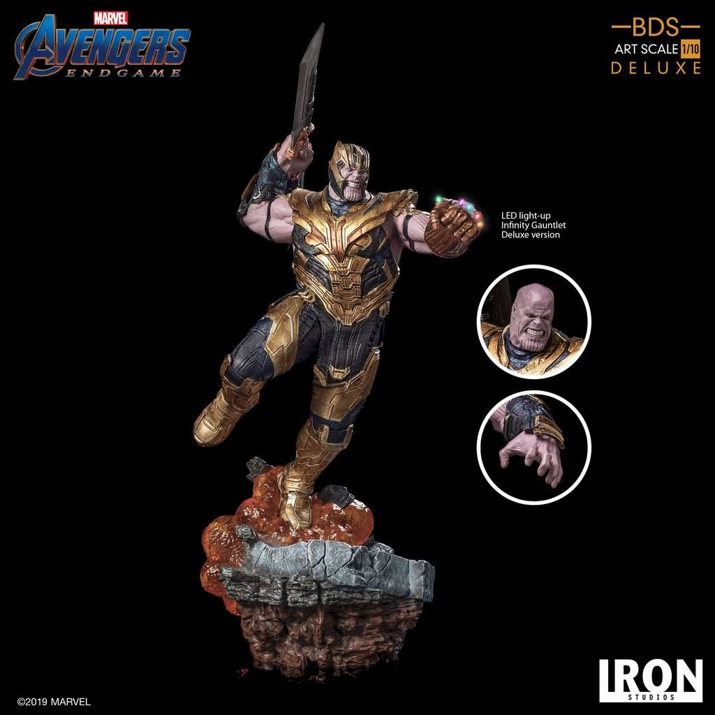Iron Studios Star-Lord BDS Art Scale 1//10 Endgame New IN STOCK! Avengers