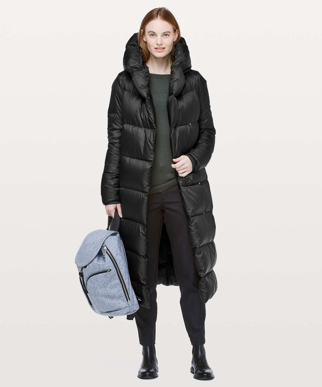 Lululemon Cloudscape Wrap Black Lulu Fanatics Coats Jackets Women Waterproof Winter Coat Long Jackets For Women [ 1280 x 1067 Pixel ]