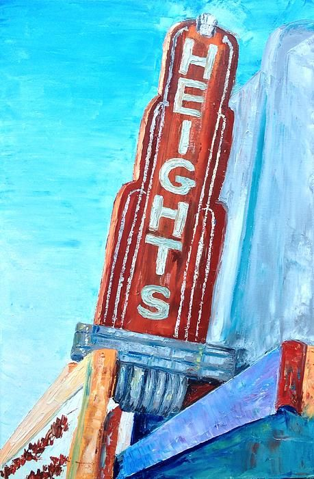 """The Heights 24"""" x 36"""" oil on canvas"""
