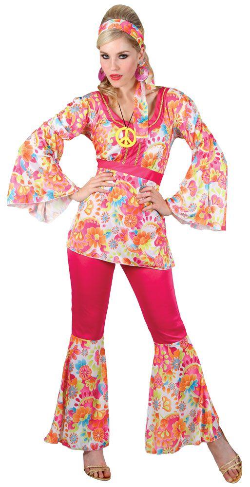 d5976198fcf1 Hippy-Flares-Top-Outfit-60s-70s-Fancy-Dress-Hippie-Adult-Ladies-Costume-6-28
