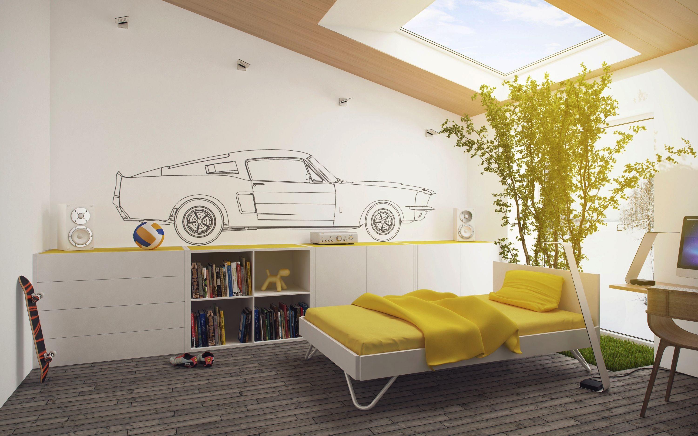 Interior design of children's bedroom homedesigningwpcontentuploadsyellow