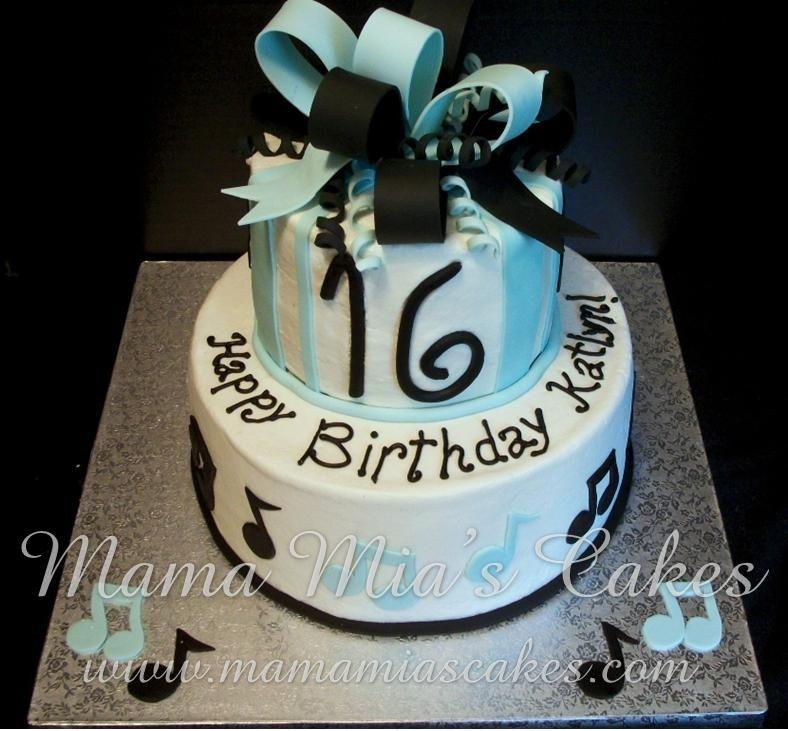 themed cakes music cakes 16th birthday cakes sweet 16 cakes sea cakes ...