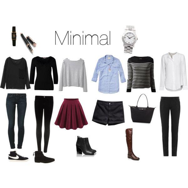 Minimalist Bathroom Checklist: Minimalist Wardrobe