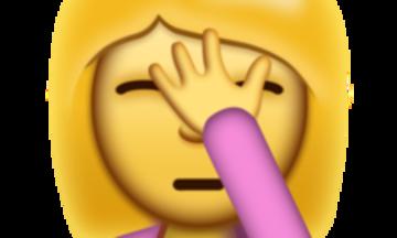 Facepalm Emoji Arrives Just In Time For U S Election Social Media Fails Social Media Emoji