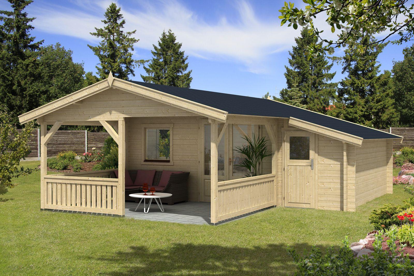 Gartenhaus Flex 50 B Mit 300cm Terrasse Anbau 4x4 3z Gartenhaus Gartenhaus Mit Terrasse Terrasse