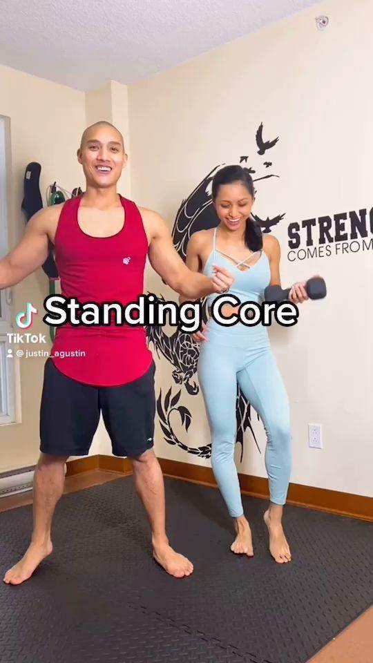 Beginner Standing Core Workout
