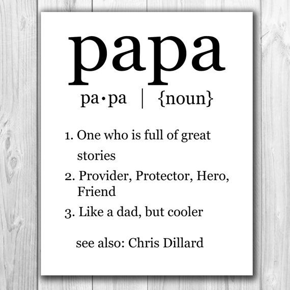 Birthday Gift Coupon Template 20% Code Printable Custom Papa Definition Art Grandparent's Day .