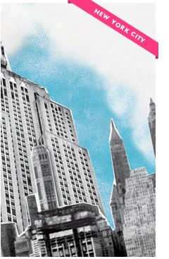 The new @KateSpadeNY city guide for NYC