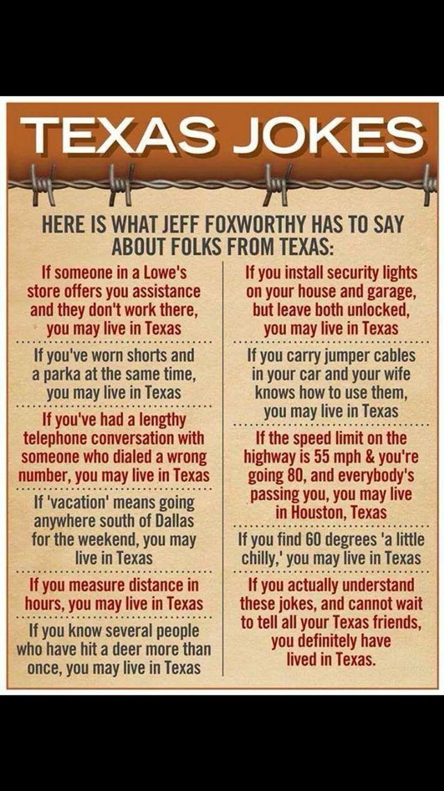 Image result for texas jokes