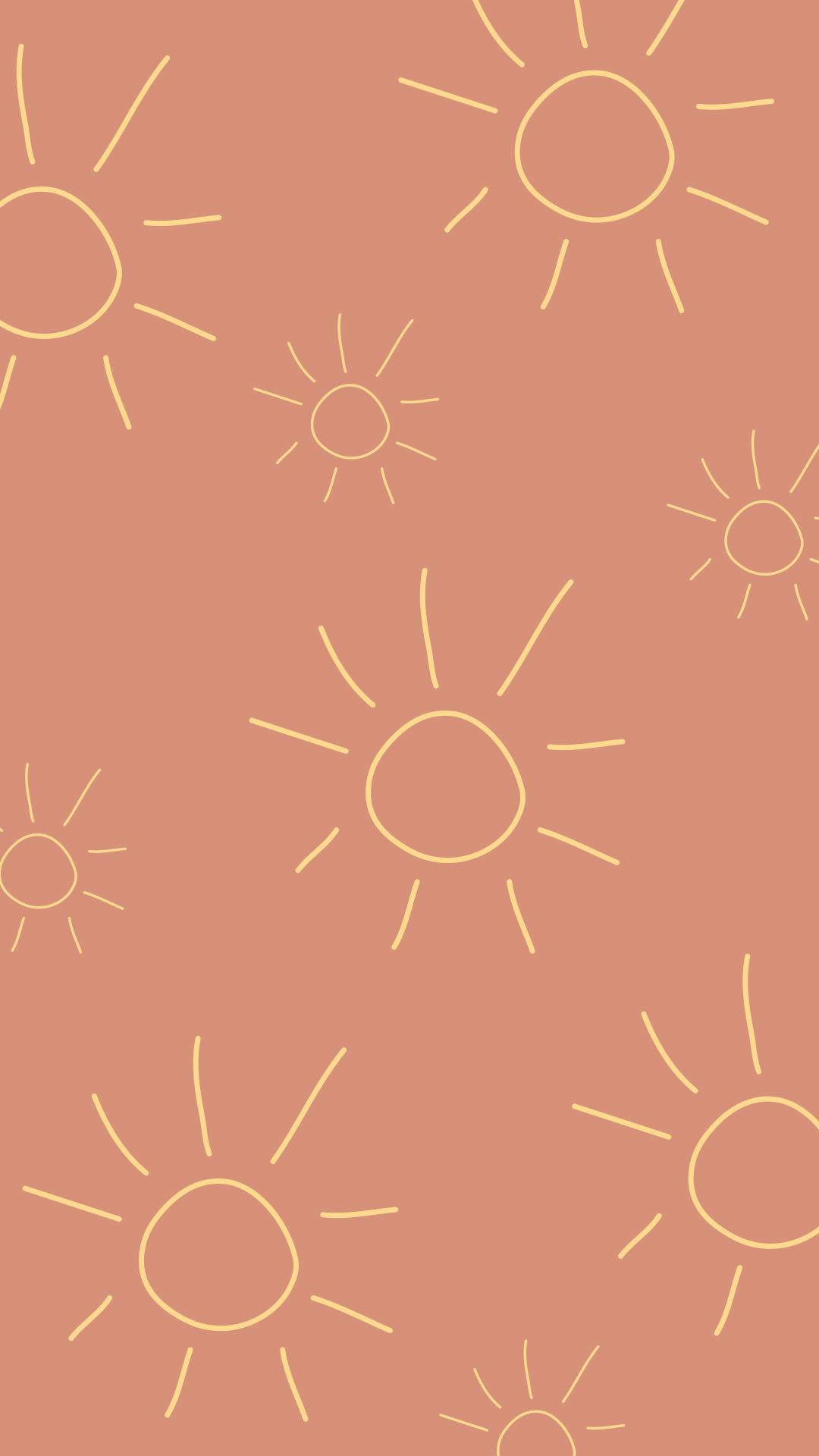 Dark Pink Wallpaper By Lara Gelders Graphic Wallpaper Boho Wallpaper Cute Patterns Wallpaper