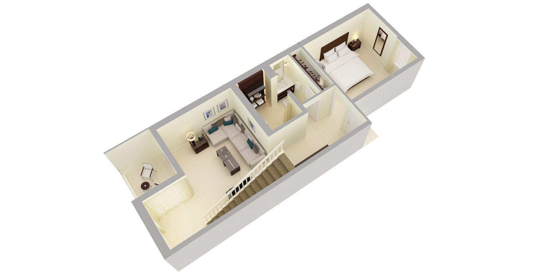 balconies - Balcony Loft House Plans