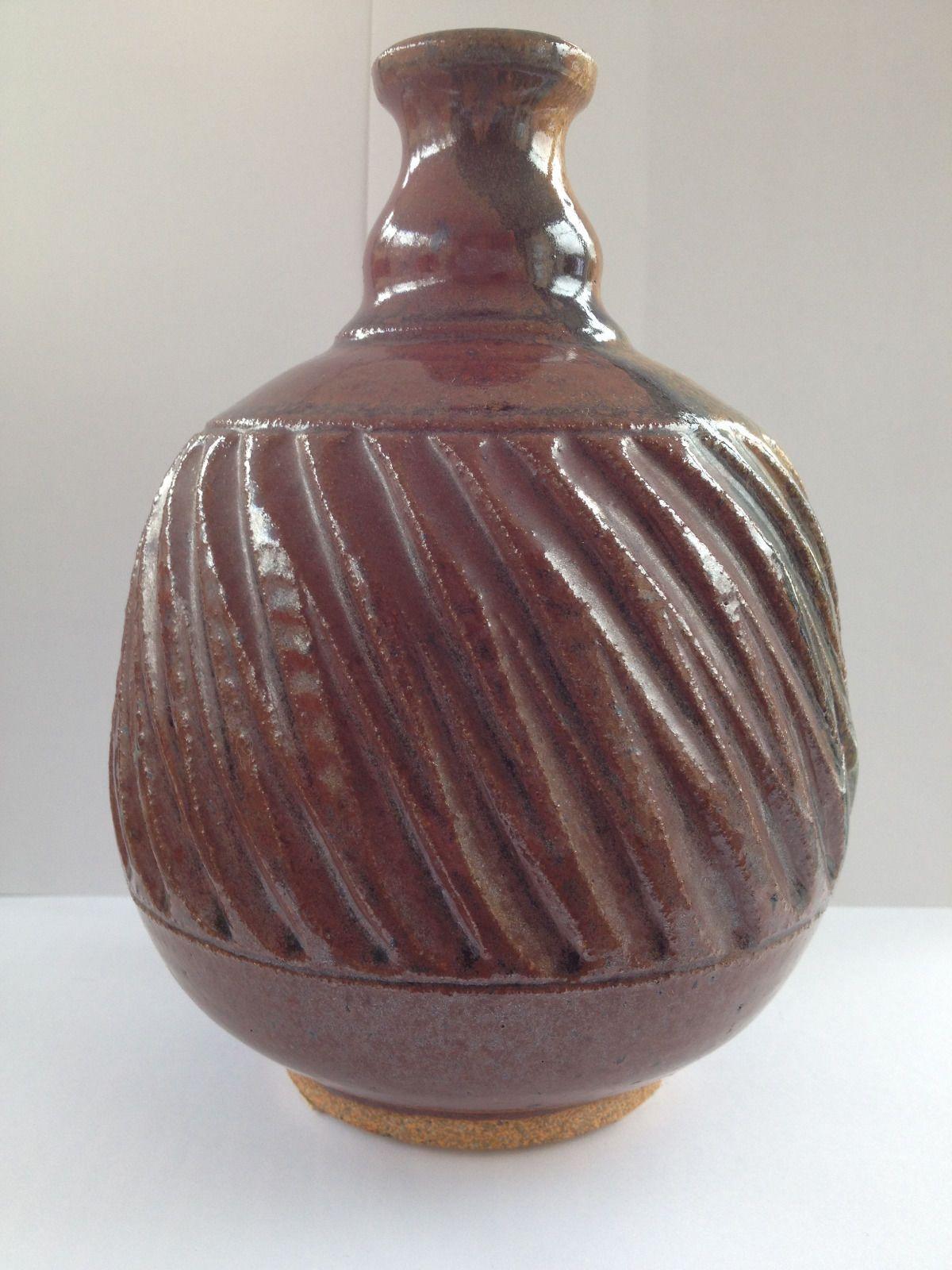Early karen ann wood studio pottery vase pottery and ceramics early karen ann wood studio pottery vase reviewsmspy
