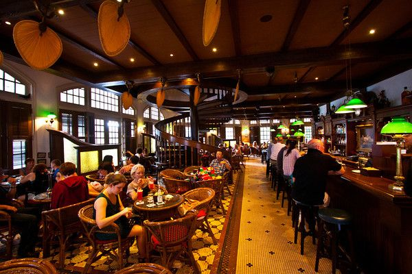 Long Bar At Raffles Singapore Home Of The Singapore Sling Singapore Attractions Singapore Map Tourist Attraction