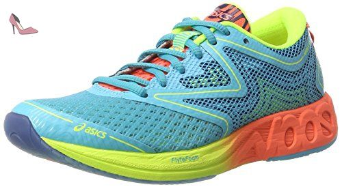 Asics Noosa Ff Chaussures de Running Comp tition Femme Bleu Aquarium Flash...