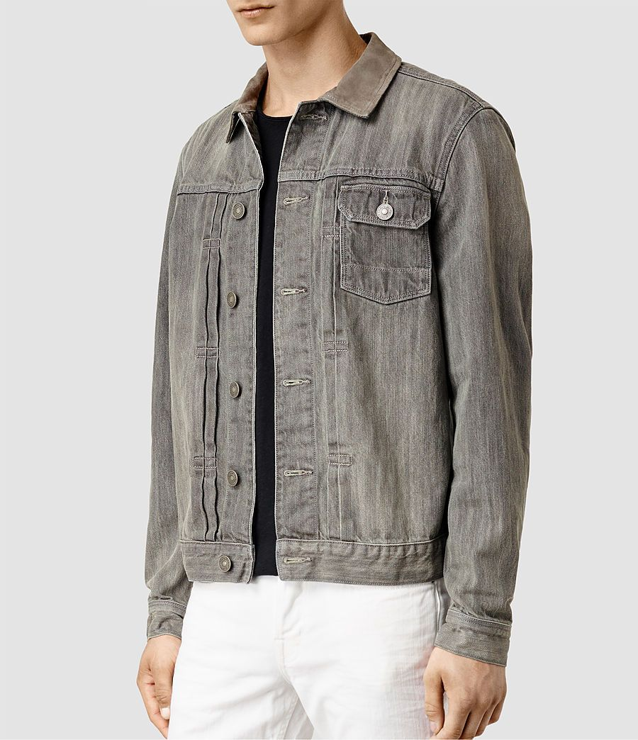 1431f7b4 Hough Denim Jacket | ALLSAINTS in 2019 | Jackets, Denim, Shirts