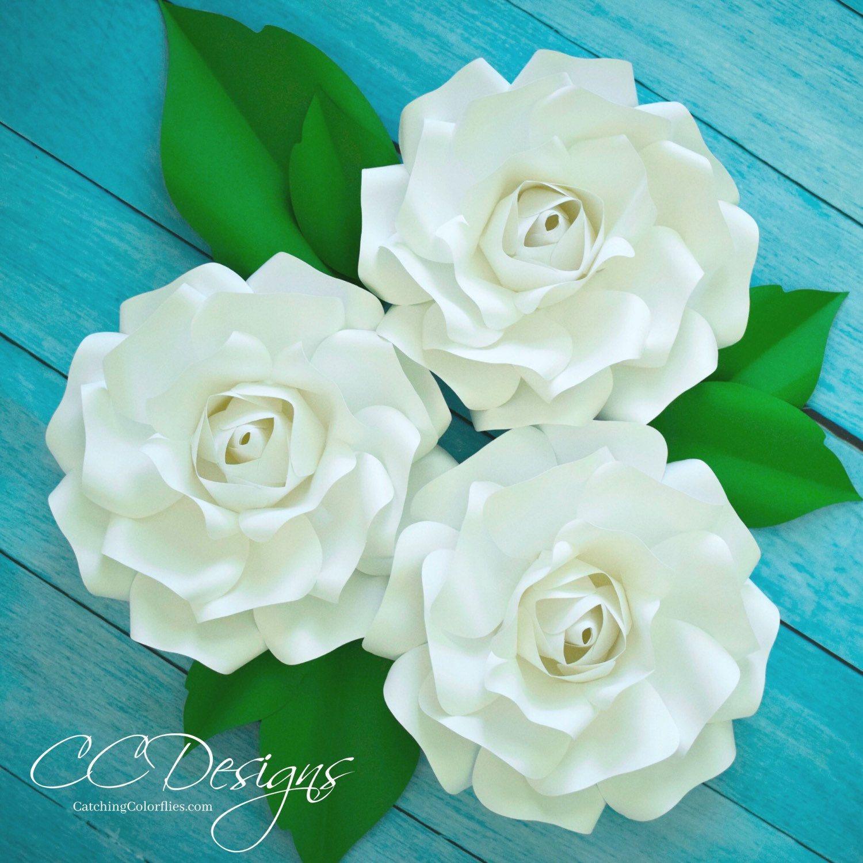 Diy Giant Rose Templates Paper Rose Patterns Tutorials Paper