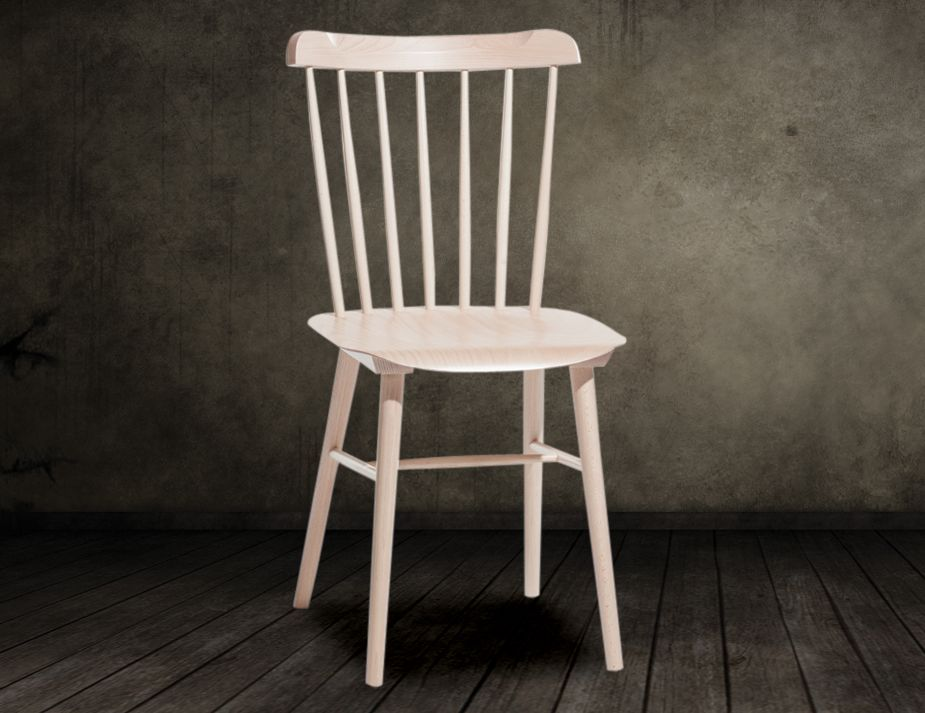 Natural Ironica Dining Chair by Tom Kelley for TON Dining Chairs