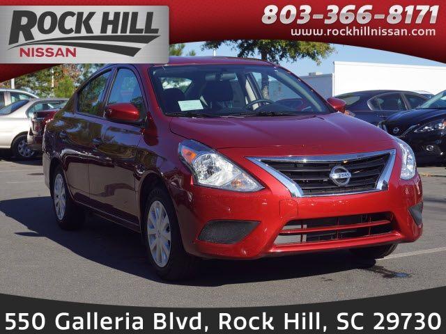 Nissan Rock Hill >> New 2019 Nissan Versa 1 6 S Plus 4d Sedan For Sale Only