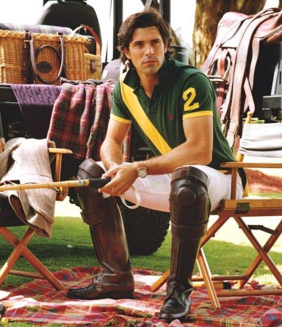 Argentinian Polo Player And Polo Ralph Lauren Spokesman Nacho Figueras Equestrian Style Nachos Polo