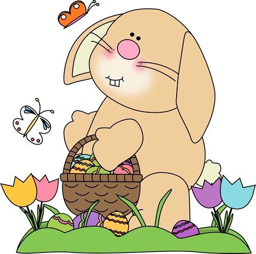 spring/easter pictures | Spring Easter Bunny Clip Art ... Easter Clip Art Free Cute