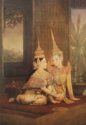 นางรจนา นางในวรรณคดีไทย Chakrabhand Posayakrit was born
