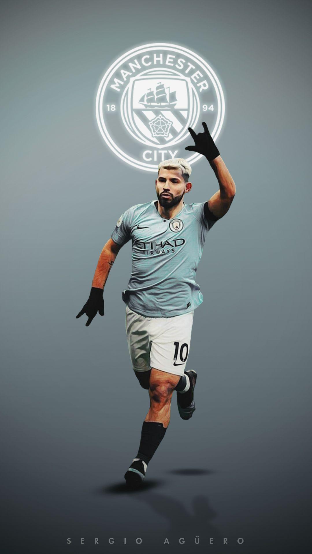 Sergio Aguero Manchester City 10aguerosergiokun X
