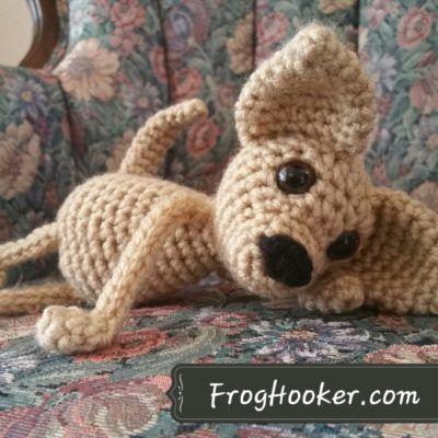 Floppy Chihuahua Dog Amigurumi Crochet Pattern Crochet Pinterest