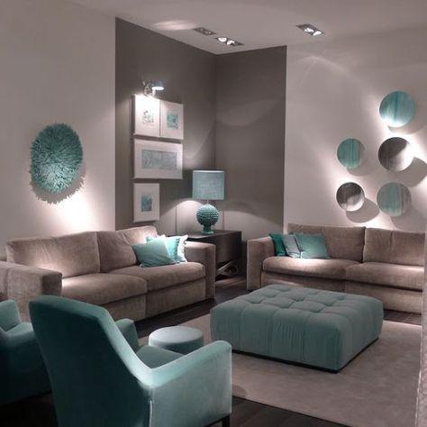 Colores que combinan para decorar salas de estar colores for Colores para casas pequenas interiores