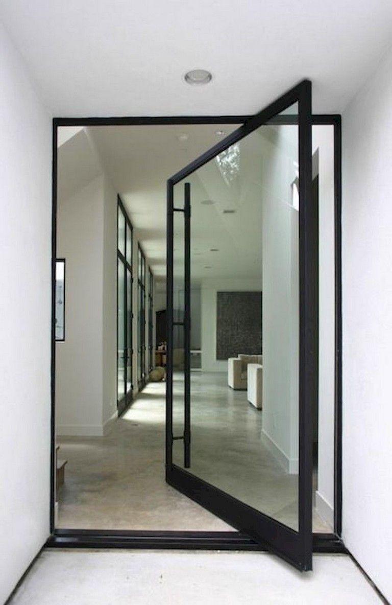 18 Modern Glass House Exterior Designs: 154+ Amazing Decorative Glass Doors Ideas