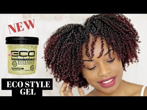 BOMB!!! WASH AND GO | NEW ECO STYLER BLACK CASTOR AND FLAXSEED OIL GEL | JOURNEYTOWAISTLENGTH - YouTube