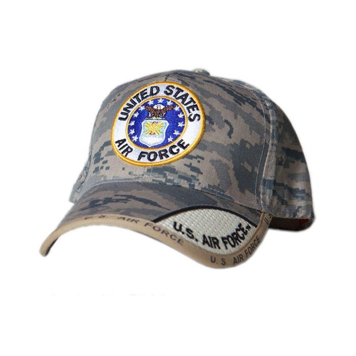 c3f79b3e463 US AIR FORCE ROUND LOGO DIGITAL PIXEL HAT