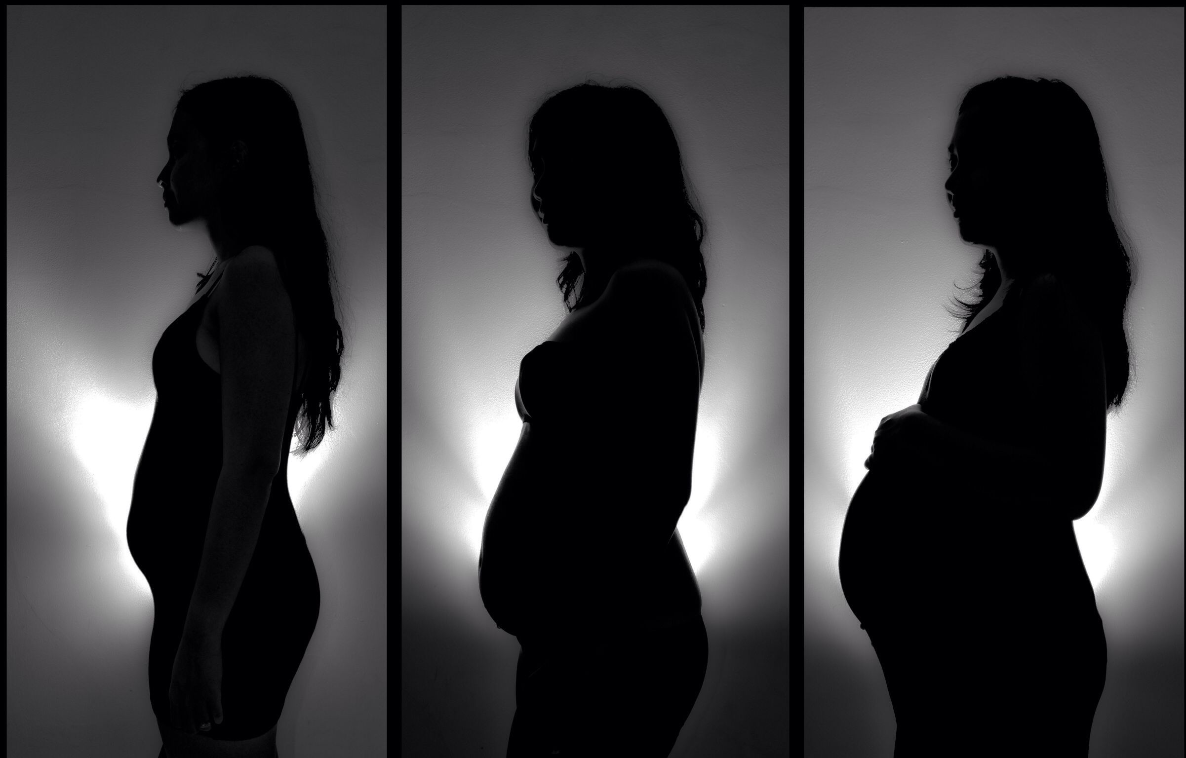 3-6-9-months of pregnancy journey ❤️