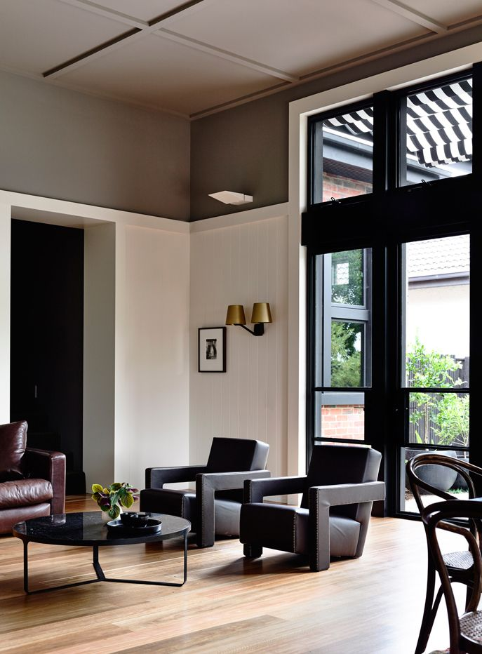 Cassina | Two incredible Utrecht chairs in the home of interior designer  Siobhan Rothwell and architect