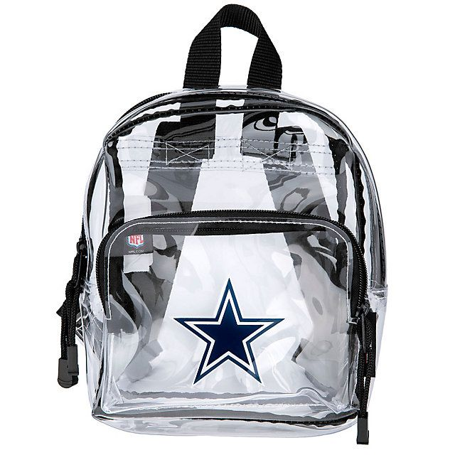 Dallas Cowboys Clear Backpack Gearing Up