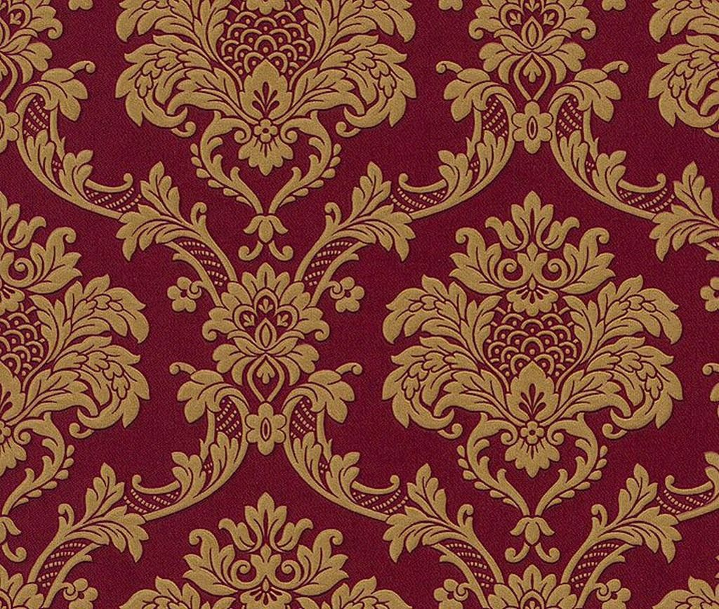 Burgundy And Gold Red And Gold Wallpaper Gold Wallpaper Victorian Wallpaper