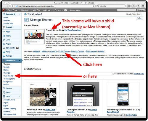 One-Click child theme creator Wordpress Plugin | Wordpress Plugins ...
