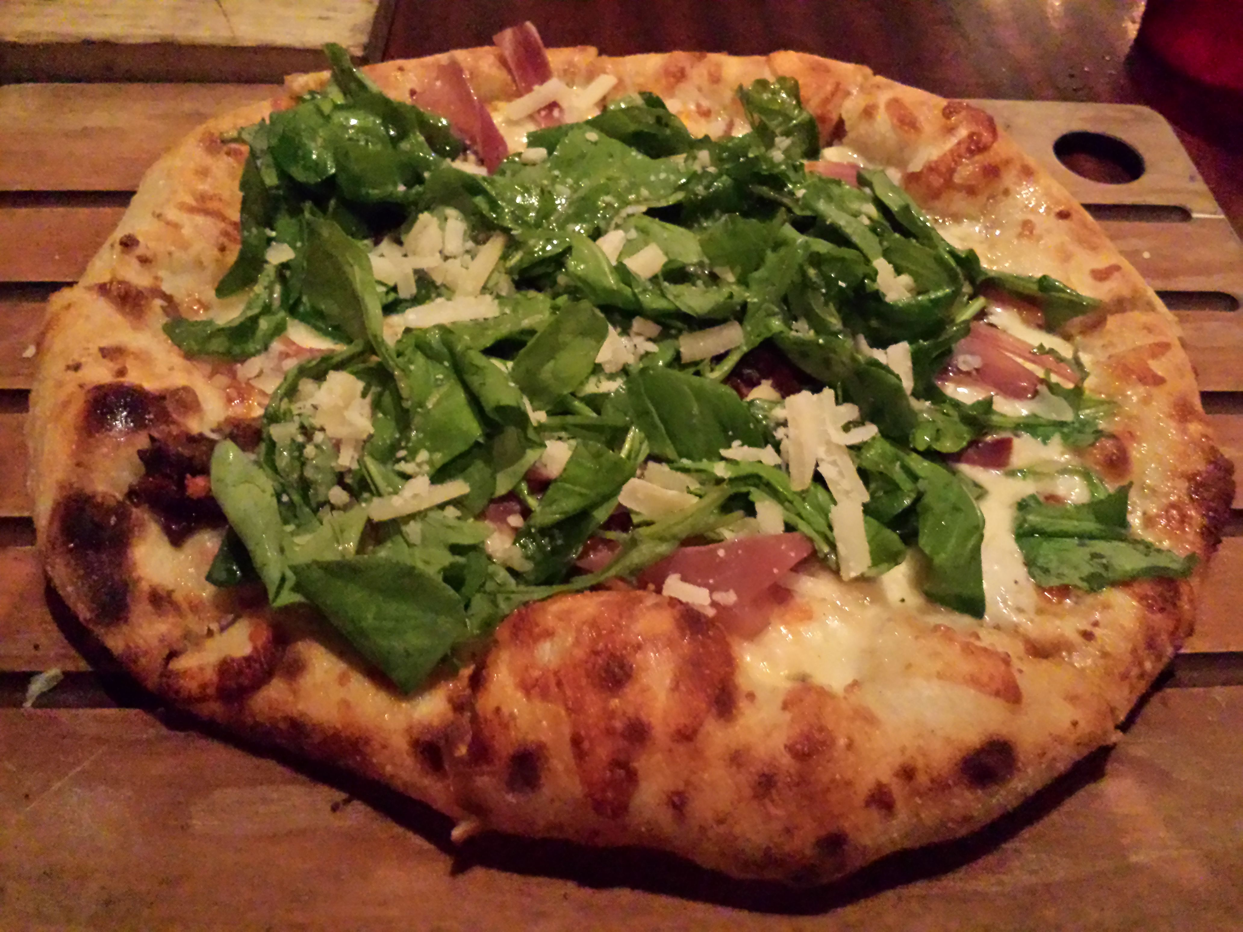 The Luggage Room Pizzeria 55 Pizza Crusade Pizza