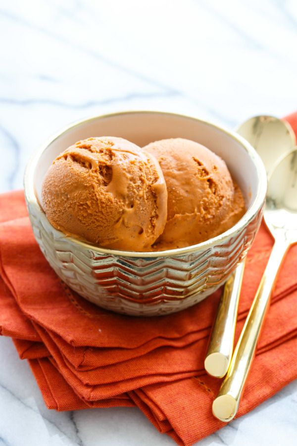 Thai Tea Ice Cream Love And Olive Oil Recipe Thai Tea Ice Cream Recipe Ice Cream Ice Cream Recipes