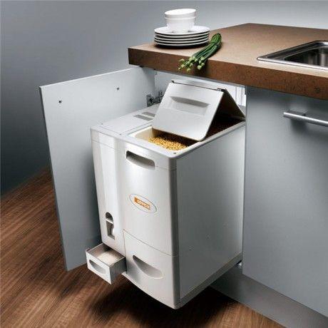 Elegant Rice Container / Dispenser Cool