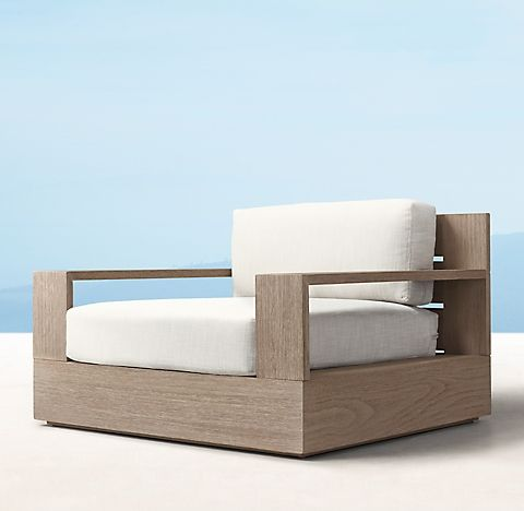 Marbella Teak Collection Weathered Teak Rh Outdoor Furniture