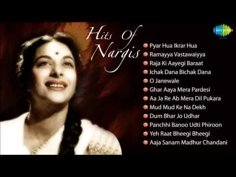 Best Of Nargis Songs Evergreen Bollywood Collection Audio Jukebox Hindi Movie Song Hindi Old Songs Songs