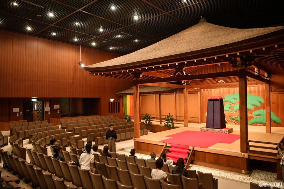 The stage where Noh is performed is called the Nogakudo ...