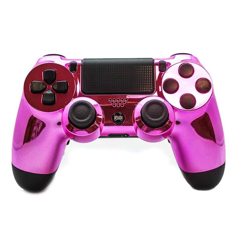 Ps4 S Pink Chrome Cinch Gaming Pink Chrome Games Ps4 S